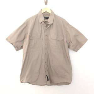 5.11 Tactical  Vented Button Front Large